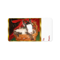 Goat Holiday Wrapping paper and Gift Tags ...