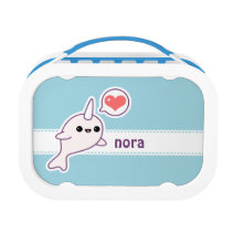 Cute Baby Narwhal Lunch Box