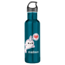 Cute Baby Narwhal Stainless Steel Water Bottle
