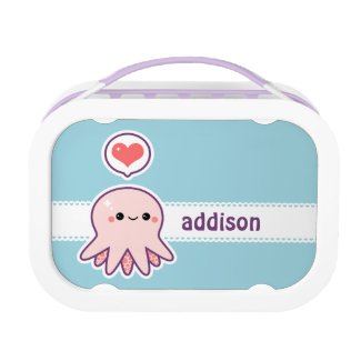 Cute Baby Octopus Lunch Box