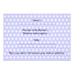 Cute Baby, on lilac polka dot pattern. Personalized Invitations