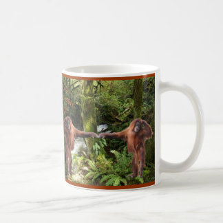 Cute Baby Orangutan Wildlife-supporter Mug
