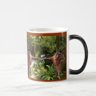 Cute Baby Orangutan Wildlife-supporter Mug