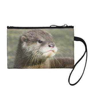 Cute Baby Otter Change Purse