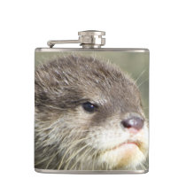 Cute Baby Otter Hip Flask