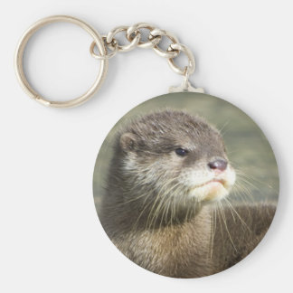 Cute Baby Otter Keychain