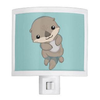 Cute Baby Otter Pup Night Light