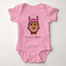 Cute Baby Owl Baby Bodysuit