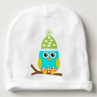 Cute Baby Owl Baby Hat Customizable Name