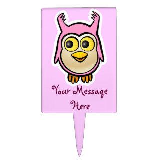 Cute Baby Owl Cake Topper