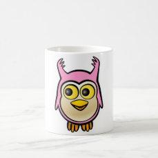 Cute Baby Owl Cartoon Coffee Mug