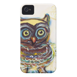 cute baby owl iPhone 4 Case-Mate case