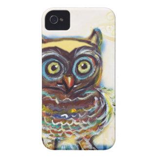 cute baby owl Case-Mate iPhone 4 case