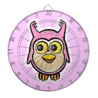 Cute Baby Owl Dart Boards