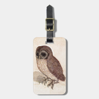 Cute Baby Owl Drawing, Watercolor Cream Brown Owl Bag Tags