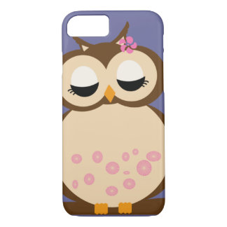 Cute baby owl iPhone 7 case covers