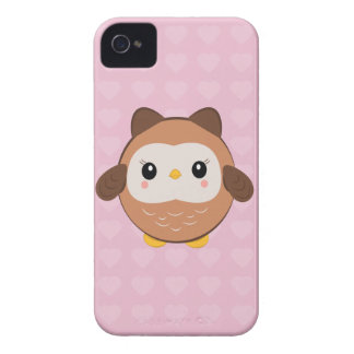 Cute Baby Owl iPhone case