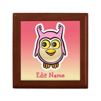 Cute Baby Owl Jewelry Box