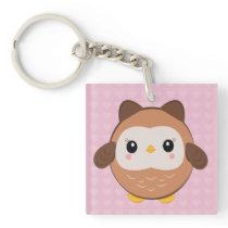 Cute Baby Owl keychain