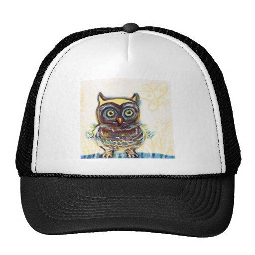 cute baby owl mesh hats