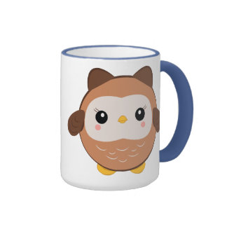 Cute Baby Owl mug