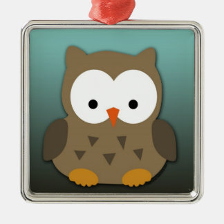 Cute Baby Owl Personalized Ornaments