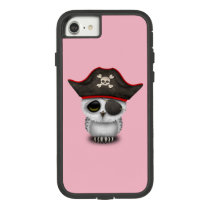 Cute Baby Owl Pirate Case-Mate Tough Extreme iPhone 7 Case