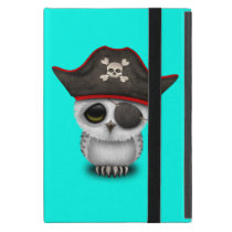 Cute Baby Owl Pirate Cover For iPad Mini