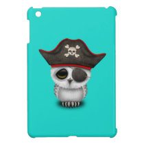 Cute Baby Owl Pirate Cover For The iPad Mini