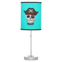 Cute Baby Owl Pirate Desk Lamp