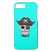Cute Baby Owl Pirate iPhone 7 Case