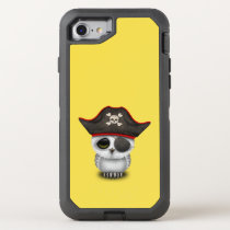 Cute Baby Owl Pirate OtterBox Defender iPhone 7 Case