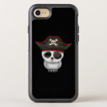 Cute Baby Owl Pirate OtterBox Symmetry iPhone 7 Case
