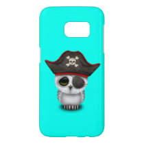 Cute Baby Owl Pirate Samsung Galaxy S7 Case