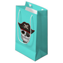 Cute Baby Owl Pirate Small Gift Bag