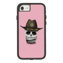 Cute Baby Owl Sheriff Case-Mate Tough Extreme iPhone 7 Case