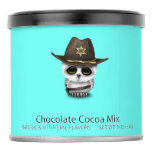 Cute Baby Owl Sheriff Hot Chocolate Drink Mix