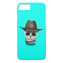 Cute Baby Owl Sheriff iPhone 7 Case