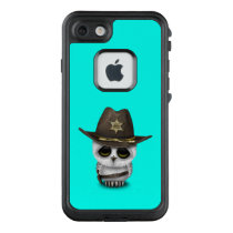 Cute Baby Owl Sheriff LifeProof FRĒ iPhone 7 Case
