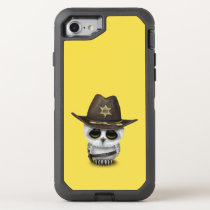 Cute Baby Owl Sheriff OtterBox Defender iPhone 7 Case