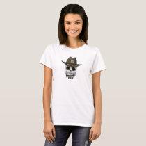 Cute Baby Owl Sheriff T-Shirt