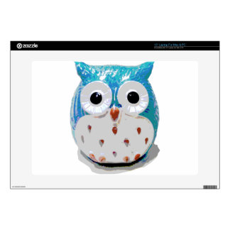 """Cute Baby Owl 15"""" Laptop Decal"""