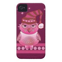 Cute Baby Owl with Nightcap Blackberry bold case
