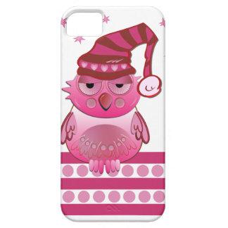 Cute Baby Owl with Nightcap iPhone 5 case