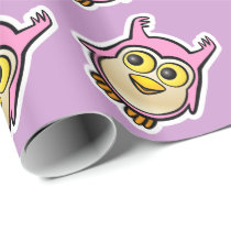 Cute Baby Owl Wrapping Paper