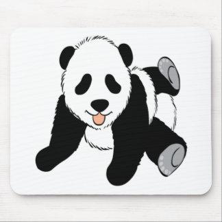 Cute Baby panda cub playing Mouse Pad