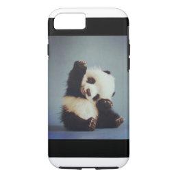 Cute Baby Panda iPhone 7 case
