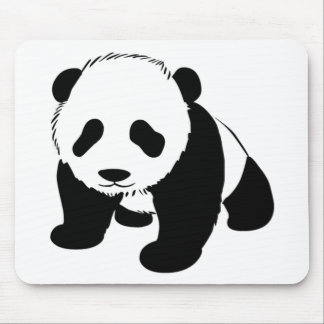 Cute Baby Panda Mouse Pad