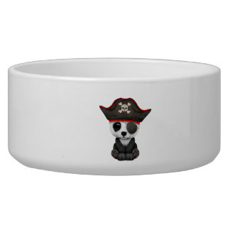 Cute Baby Panda Pirate Bowl