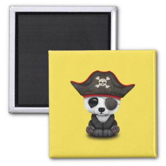 Cute Baby Panda Pirate Magnet